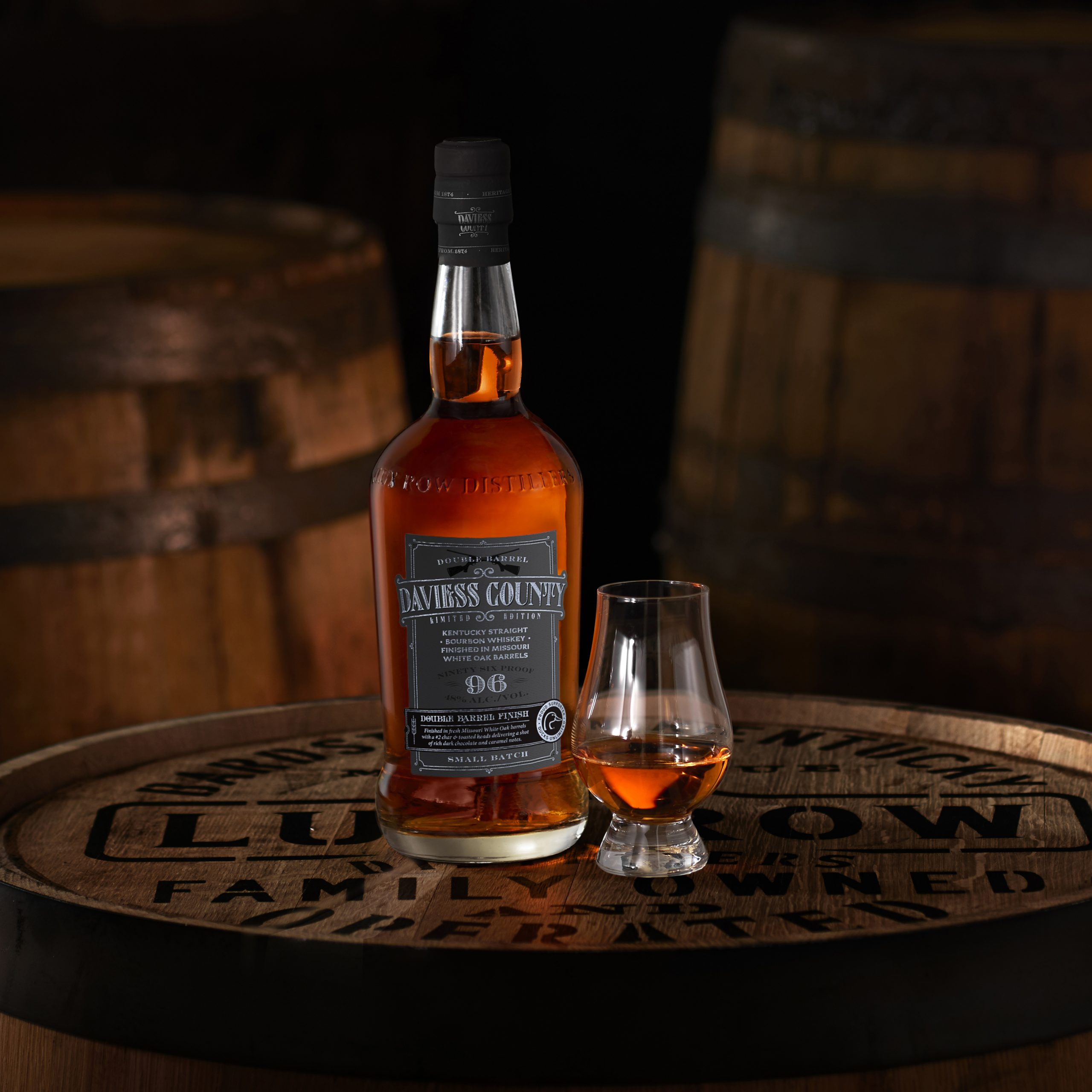 Daviess County Limited Edition Double Barrel Bourbon Release